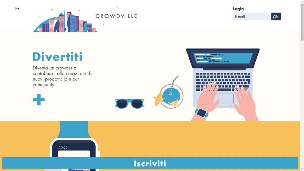 get paid to test crowdville with mccormick