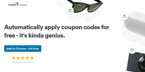CapitalOne Shopping Coupon website