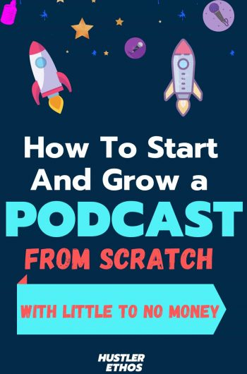 how to start a podcast pin